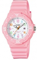 casio standard collection lrw 200h analog watch pink running walking equipment
