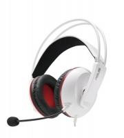 asus cerberus arctic redwhiteblack pcmacplaystation headset