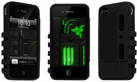 razer iphone 4 protection case black