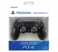 sony playstation dualshock 4 controller new version 2 black