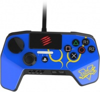 sparkfox madcatz gaming controller blue ps3ps4