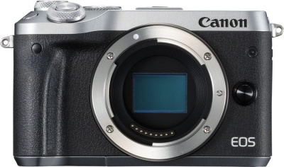 Photo of Canon EOS M6 Mirrorless Body - Black and Silver Digital Camera