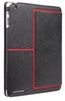 case mate venture folio for ipad 2 black and red