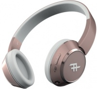 zagg ifrogz coda wireless headphones rose gold