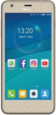 "Photo of Hisense U962 5"" 8GB 3G Dual Sim Smartphone - Gold"