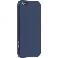 ozaki iphone5 slim case solid blue