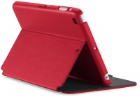 speck stylfolio folio case for apple ipad mini retina red
