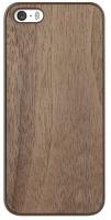ozaki wood case for apple iphone 5 and 5s walnut
