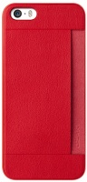 ozaki ocoat 03 pocket case for apple iphone 5 and 5s red
