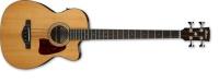 ibanez aeb105e nt aeb series 4 string acoustic eletric guitar