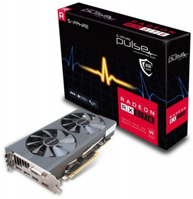 Photo of Sapphire Pulse Edition AMD Radeon RX 570 8GD5 8GB Gaming Graphics Card