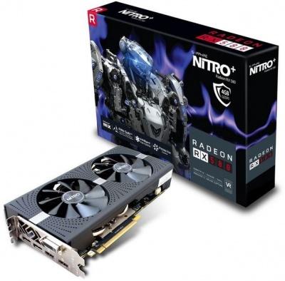 Photo of Sapphire Nitro AMD Radeon RX580 4GD5 OC Edition Gaming Graphics Card