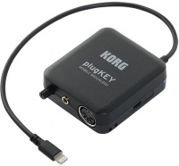 korg plugkey moble midi and audio interface for apple