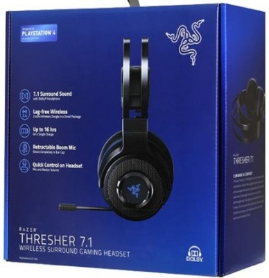 Photo of Razer - Thresher 7.1 Wireless Gaming Headset 7.1 Surround Sound with Retractable Microphone