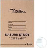 treeline a4 nature study book 72 page