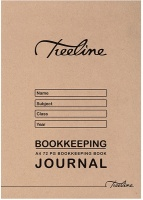 treeline a4 soft cover journal bookkeeping book 72 page