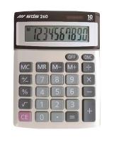 sds 260 dual power mini desktop 10 digit calculator
