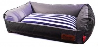Dogs Life Dogs Life Retro Lounger Waterproof Winter Bed Black