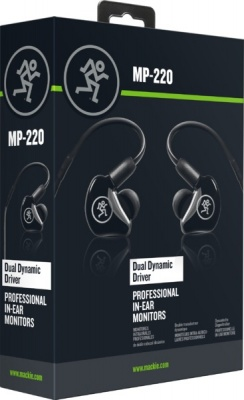 Photo of Mackie MP-220 MP Series Dual Dynamic Driver Professional In-Ear Monitors