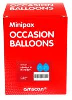 Amscan Minipax Balloons Birthday Boy Box