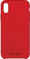 body glove silk series case for apple iphone x and xs red
