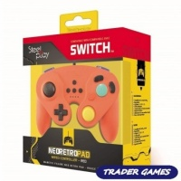 steelplay gcube wired controller red nintendo switch