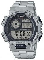 casio standard collection digital wrist watch silver running walking equipment
