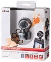 Trust Exis Webcam BlackSilver