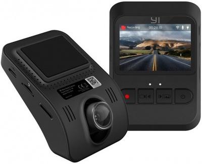 YI Mini Smart Dash 1080P 2MP 165 Micro SD Slot Camera Black