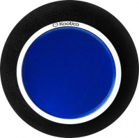 kaotica eyeball microphone booth black and blue microphone