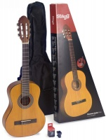 Stagg C430 M 34 Classical Acoustic Guitar Pack
