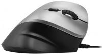 Macally Ergonomic Vertical USB Mouse Black