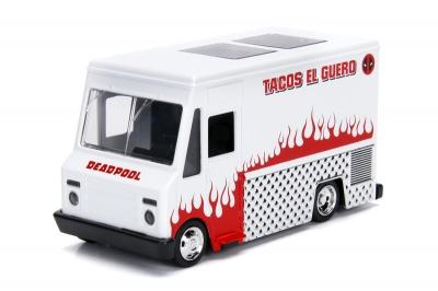 Photo of Jada Toys - 1/32 Deadpool - Food Truck White