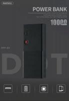 remax dot series 10000mah power bank black power bank