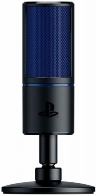 Photo of Razer - Seirēn X for PS4: Gaming Condenser Microphone - Built-in shock absorption - Professional-quality streaming