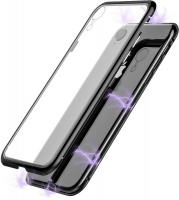 body glove chrome magnetic for apple iphone xr clear and