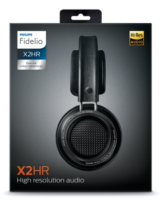Photo of Philips Fidelio X2HR High Resolution Headphones with Sound Isolation and Velvet Cushions - Black