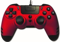 steelplay metaltech wired controller red ps4
