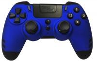 steelplay metaltech wireless controller blue ps4