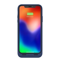 zagg mophie juice pack air iphone x blue