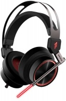 1more spearhead vrx sounddual cancellation led headset