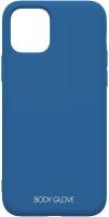 body glove silk case for apple iphone 11 blue