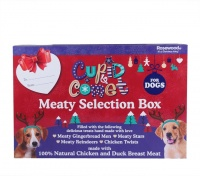 Rosewood Christmas Meaty Selection Gift Box for Dogs