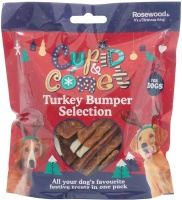 Rosewood Turkey Treats Bumper Selection Pack for Dogs