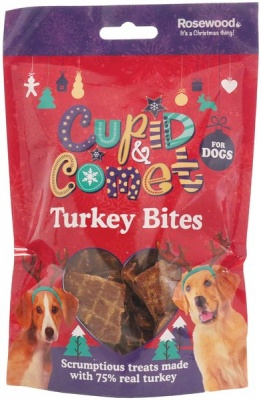 Rosewood Turkey Bites for Dogs