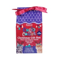 Rosewood Christmas Gift Box for Cats