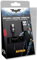 tribe usb to lightning synccharge cable dc comics batman