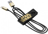tribe usb to lightning synccharge cable star wars bb8 gold