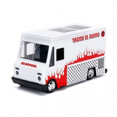 Photo of Jada Toys - 1/32 - Deadpool Taco Truck White