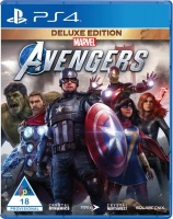 Square Enix Marvels Avengers Deluxe Edition